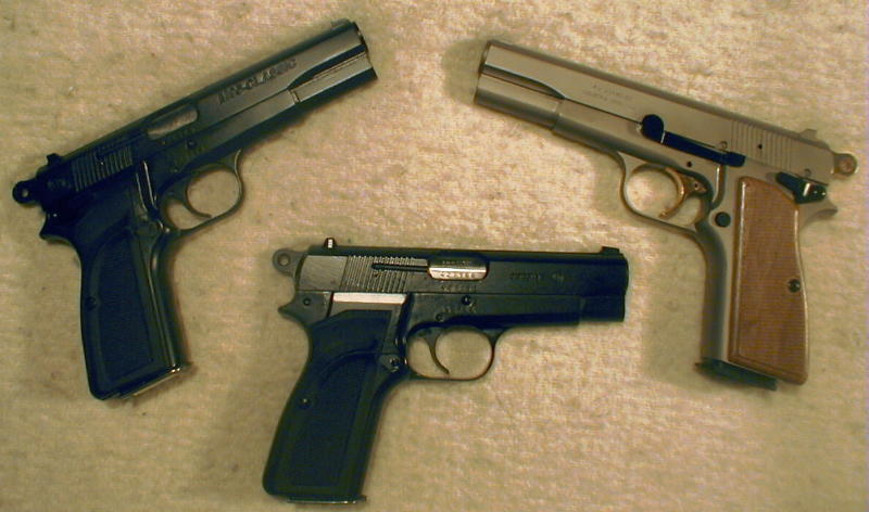 Argentine High Powers - M95 Classic, M95 Deluxe, and Detective Models