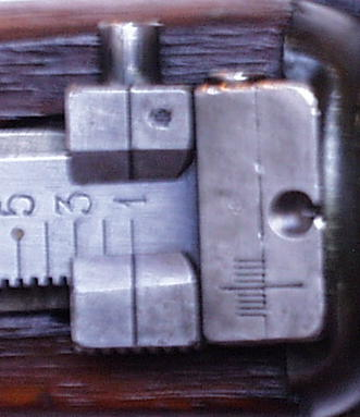 Norwegian Krag Rear Sight