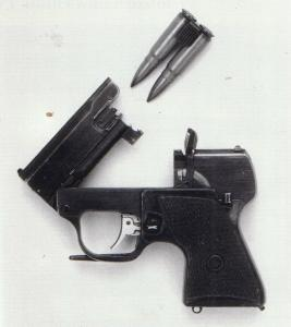 SP-3 Cartridge and MSP Pistol