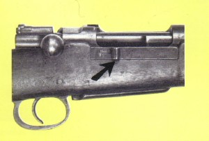 Cut-Off on Turkish Model 1893 Mauser Rifle