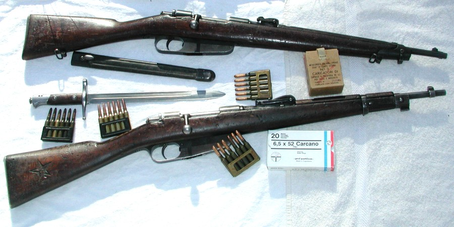 Carcano M91 TS and M91/24 Carbines